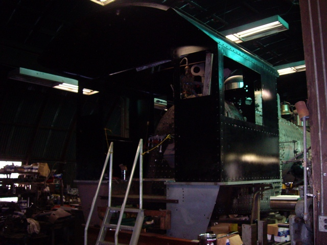 The Cab is in Place